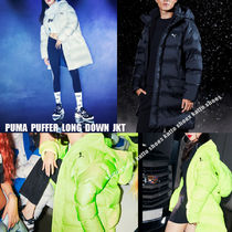 PUMA★ヒョナ着用★PUFFER LONG DOWN JACKET★兼用★3色
