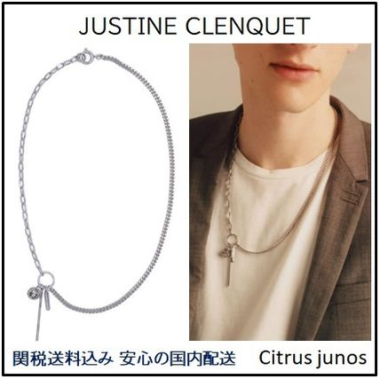 Justine Clenquet ネックレス・チョーカー 人気 Justine Clenquet Haiden チェーン ネックレス 国内発送