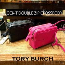 SALE TORY BURCH★BLOCK-T DOUBLE ZIP CROSSBODY