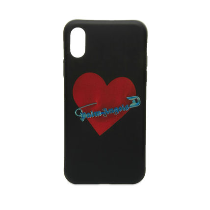 Palm Angels スマホケース・テックアクセサリー Palm Angels☆PIN MY HEART IPHONE X CASE ハートがCOOL!(2)