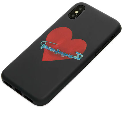 Palm Angels スマホケース・テックアクセサリー Palm Angels☆PIN MY HEART IPHONE X CASE ハートがCOOL!(3)
