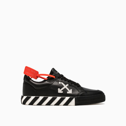 Off-White スニーカー OFF WHITE 19FW ARROW LOGO LEATHER VULC SNEAKERS(2)