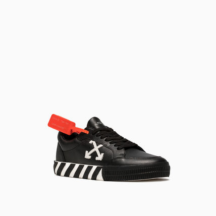 Off-White スニーカー OFF WHITE 19FW ARROW LOGO LEATHER VULC SNEAKERS(3)