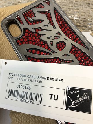 Christian Louboutin スマホケース・テックアクセサリー 20New■Christian Louboutin■Ricky Gem IPhone XS MAX ☆関税込(4)