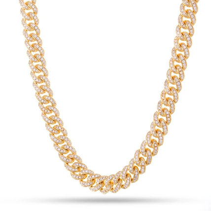 King Ice ネックレス・チョーカー 【King Ice】10mm Iced Miami Cuban Curb Chain(2)