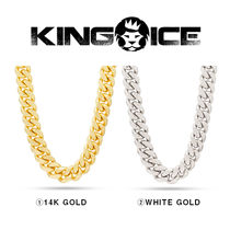 【King Ice】16mm Stainless Steel Miami Cuban Curb Chain
