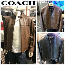 【COACH】☆お買い得☆F33779☆LEATHER RACER JACKET