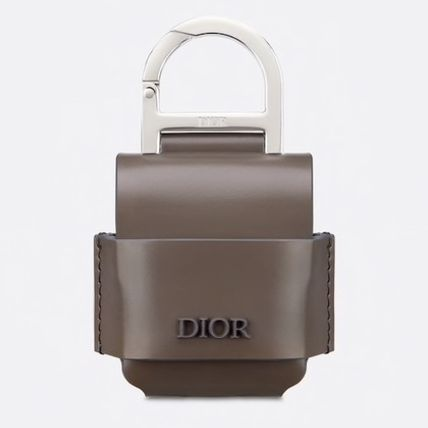 DIOR HOMME スマホケース・テックアクセサリー 【DIOR HOMME】カーフスキン AIRPODSケース 直営店(2)