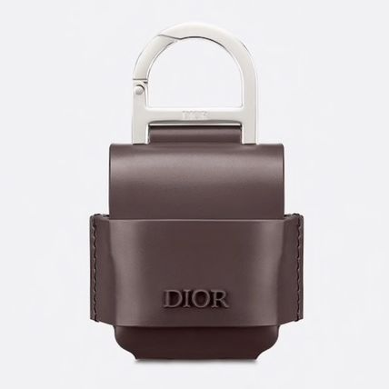 DIOR HOMME スマホケース・テックアクセサリー 【DIOR HOMME】カーフスキン AIRPODSケース 直営店(8)