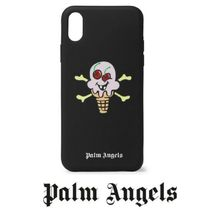 PALM ANGELS + ICECREAM ロゴプリント IPhone X ケース