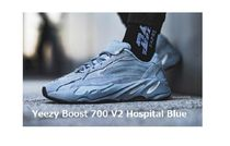 adidas Yeezy Boost 700 V2 Hospital Blue  ホスピタルブルー