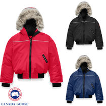 CANADA GOOSE(カナダグース) キッズアウター 【CANADA GOOSE】GRIZZLY BOMBER ★グリズリー