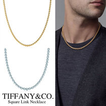 TIFFANY & CO★Square Link Necklace 18Kゴールド ネックレス