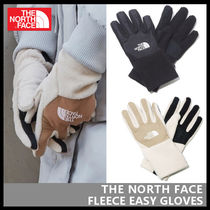 【THE NORTH FACE】FLEECE EASY GLOVES NJ3GK53J NJ3GK53K