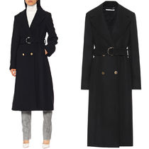 SM567 BELTED WOOL COAT