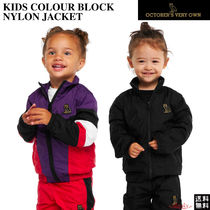 OCTOBERS VERY OWN(オクトーバーズ ベリー オウン) キッズアウター ☆October's Very Own☆KIDS COLOUR BLOCK NYLON JACKET★OVO