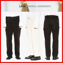 ★韓国の人気★【LIFUL] ★WASHED WORK PANTS★2色★