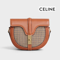 CELINE☆★Small Besace 16 Bag ツイード