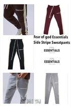 ★大人気★Fear of god Essentials Side Stripe Sweatpants