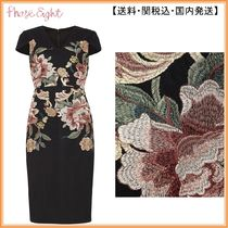 【関税込】Phase Eight ワンピース☆Nara Floral Embroidered Dr