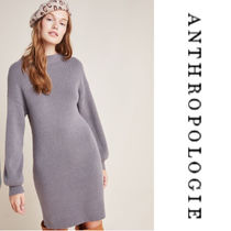 【Anthropologie】Alder Mock Neck Sweater Dress gニットワンピ