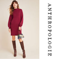 【Anthropologie】Alder Mock Neck Sweater Dress wニットワンピ