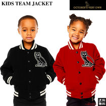 OCTOBERS VERY OWN(オクトーバーズ ベリー オウン) キッズアウター 【Drakeブランド】☆October's Very Own☆KIDS TEAM JACKET★OVO
