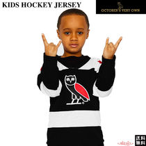 OCTOBERS VERY OWN(オクトーバーズ ベリー オウン) キッズ用トップス 【Drakeブランド】☆October's Very Own☆KIDS HOCKEY JERSEY★
