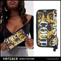 Versace Jeans☆バロック ロゴ ウォレット 長財布 [送関込]