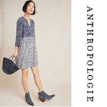 【Anthropologie】Juno Printed Dress g ドットプリントワンピ