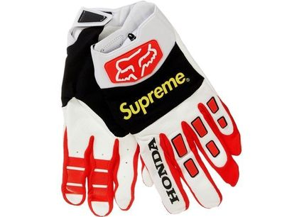 Supreme 手袋 Supreme Honda Fox Racing Gloves AW19 Week 6
