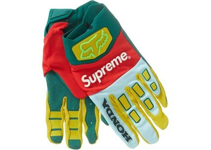 Supreme 手袋 Supreme Honda Fox Racing Gloves AW19 Week 6(2)