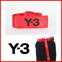 ☆Y-3☆19SS ロゴ ベルト レッド DY0522 RED☆正規品・安全発送