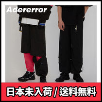 【ADERERROR】Former trousers