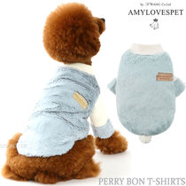 AMYLOVESPET(エイミーラブズペット)★PERRY BON T-SHIRTS- BLUE