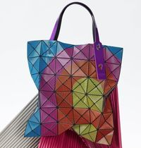 BaoBao Issey Miyake LUCENT TRACK Aトートバッグ6×6MULTICOLOR