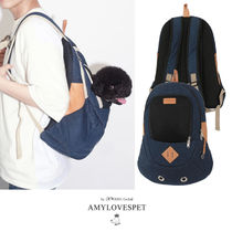 AMYLOVESPET(エイミーラブズペット)★BACK FRONT M DAILY DENIM