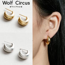【Wolf Circus】セレブ愛用●フープピアス gold/Sterling Silver