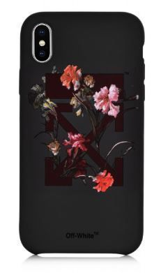 Off-White スマホケース・テックアクセサリー UK発!【OFF-WHITE】Floral Arrows iPhone XR/X ケース(4)