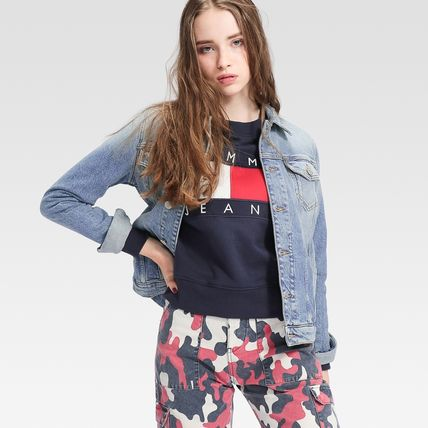 Tommy Hilfiger アウターその他 TOMMY JEANS バックロゴトラックジャケット 国内買付 すぐ届く(2)