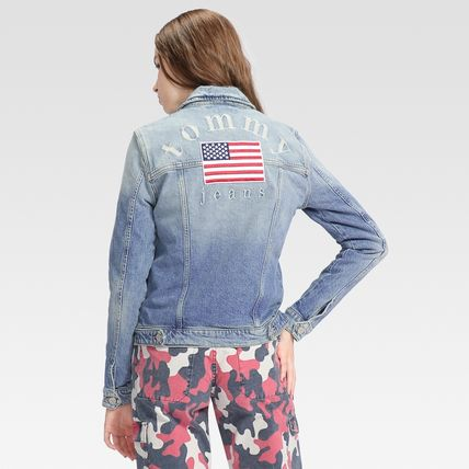 Tommy Hilfiger アウターその他 TOMMY JEANS バックロゴトラックジャケット 国内買付 すぐ届く(3)