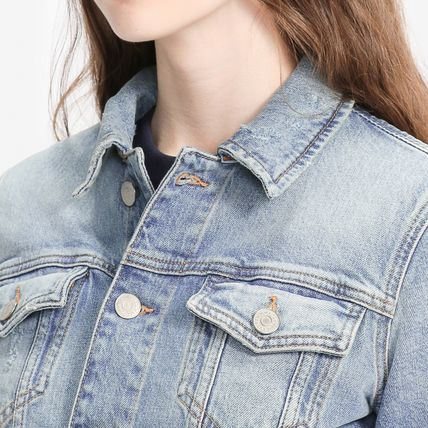 Tommy Hilfiger アウターその他 TOMMY JEANS バックロゴトラックジャケット 国内買付 すぐ届く(4)
