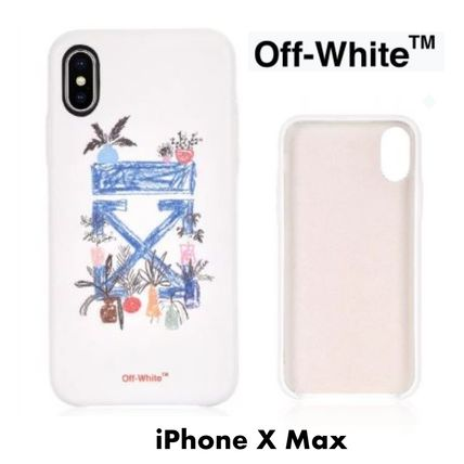 Off-White スマホケース・テックアクセサリー UK発!【OFF-WHITE】De Graft Arrows iPhone X Max ケース