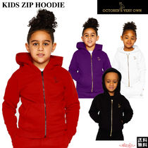 OCTOBERS VERY OWN(オクトーバーズ ベリー オウン) キッズ用トップス 【Drakeブランド】☆October's Very Own☆KIDS ZIP HOODIE★OVO
