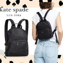 ★kate spade★ TAYLOR Small バックパック ナイロン 黒 即発