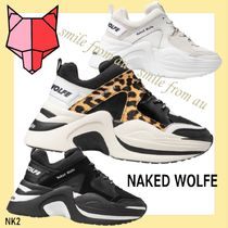 NAKED WOLFE★NAKED WOLFE TRACK 厚底スニーカー★women's☆彡