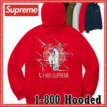 Supreme 1-800 Hooded Sweatshirt AW 19 FW 19 WEEK 6