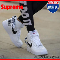 ★追跡有り★Supreme x Air Force 1 High Supreme 'White'★