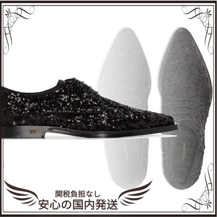 Dolce & Gabbana シューズ・サンダルその他 関税込◆Millennials sequin-embellished lace-up shoes
