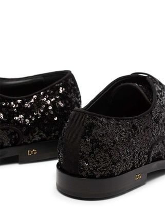 Dolce & Gabbana シューズ・サンダルその他 関税込◆Millennials sequin-embellished lace-up shoes(5)